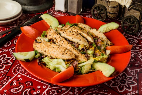 Grilled Yard Bird Salad