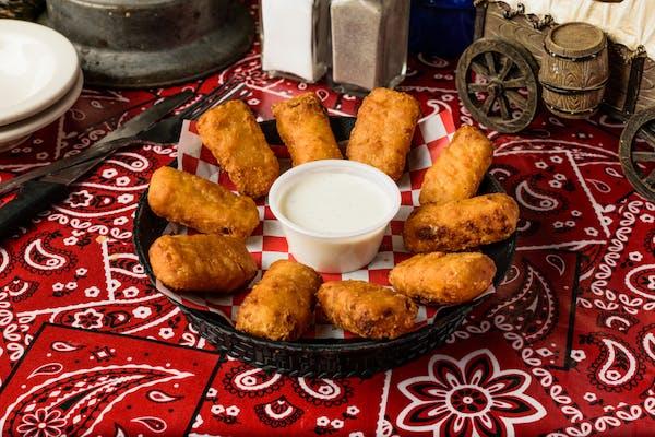 Fried Mac & Cheese Bites
