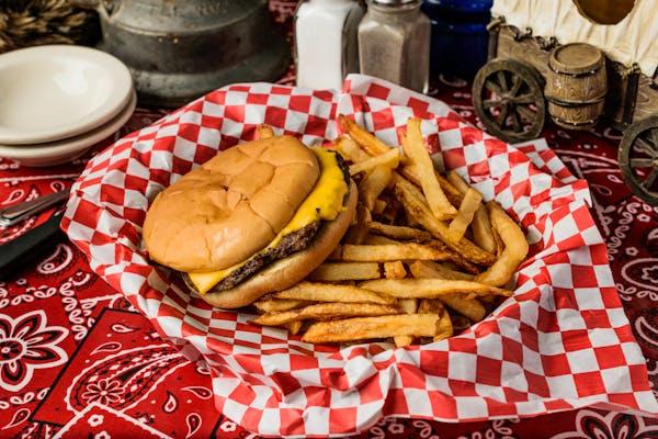 Kid's Burger & Fries