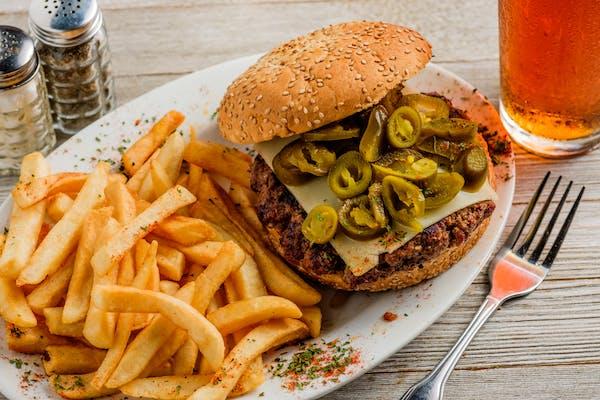 Andy's Hot Jalapeño Burger