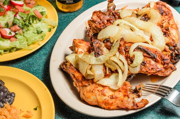 Pollo con Queso Dinner