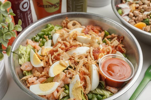 The Cajun Cobb Salad