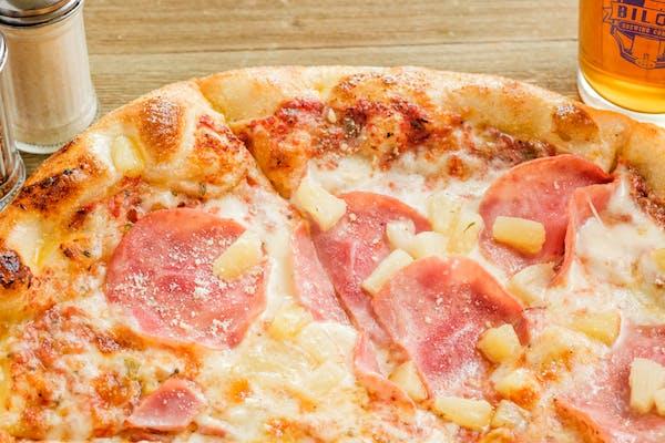 Left Coast Mountie (Hawaiian) Pizza