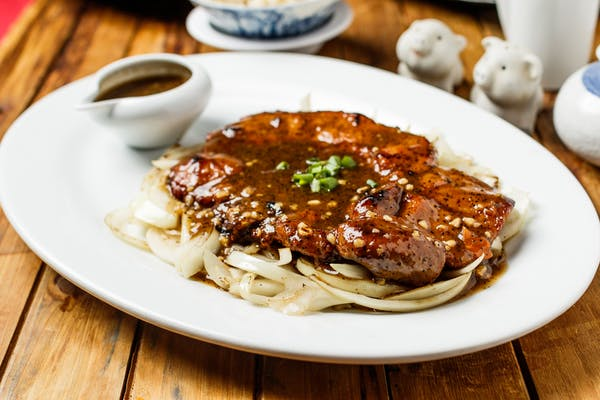 Black Pepper Pork Chops