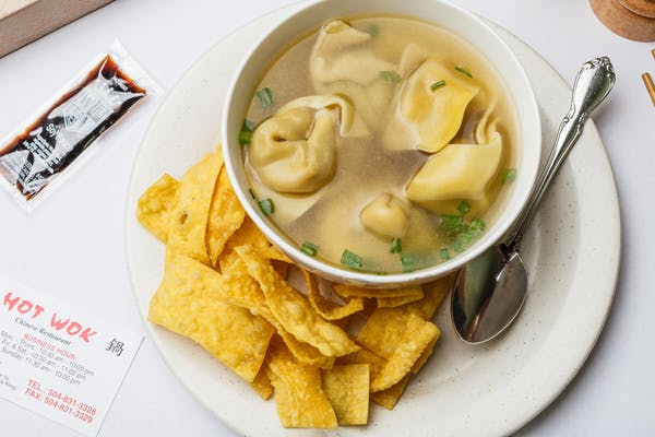 Wonton with Egg Drop Soup