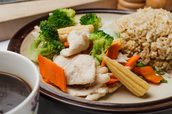 Chicken with Mixed Vegetables (Diet)