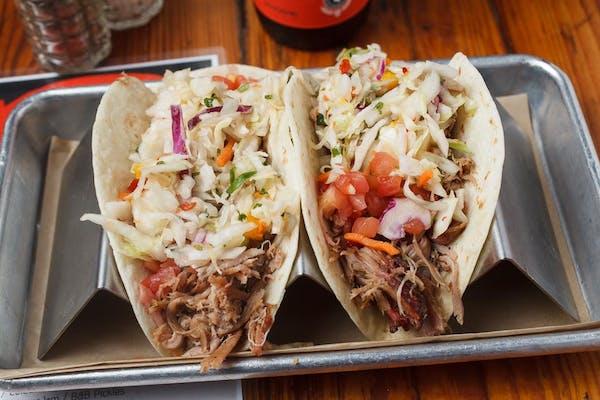 Pulled Pork BBQ Tacos