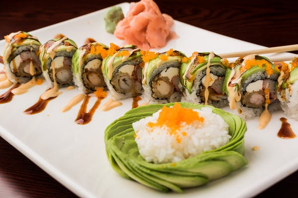 J27. Green Dragon Roll