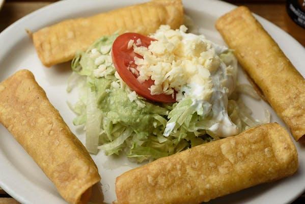 Taquitos Mexicanos (Flautas)