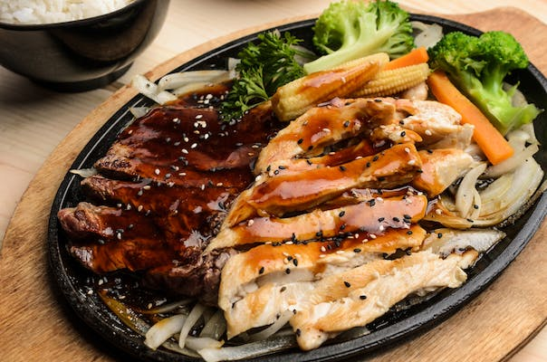Chicken & Steak Teriyaki