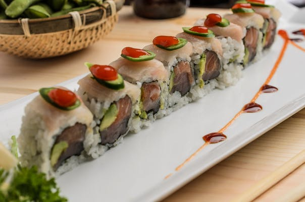 Crazy Yellowtail Roll