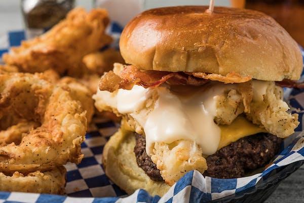 """Willie Love"" Handle Burger"