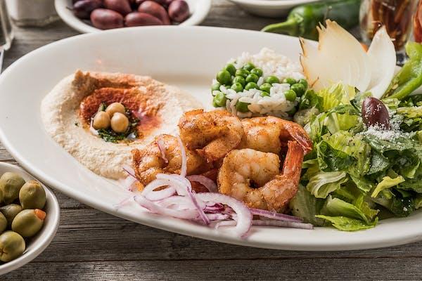 Shrimp Shish Kabob Plate
