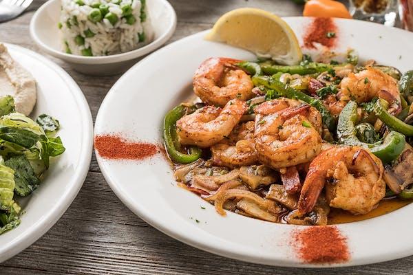 Shrimp Scampi Plate