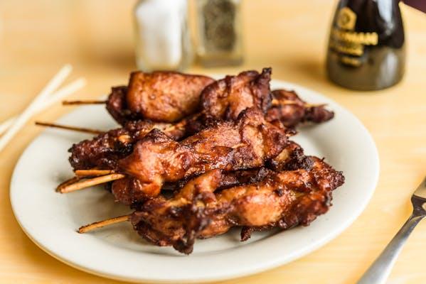 7. Chicken on a Stick