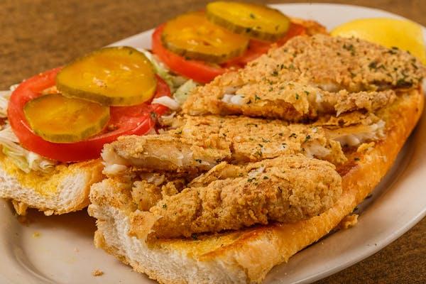 Fried Fish Poboy