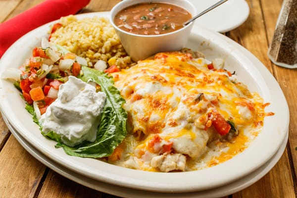 (3) Seafood Enchiladas