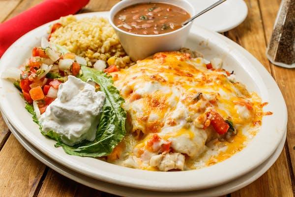 (3) Fajita Enchiladas