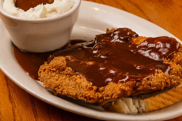 Southern Fried Steak Dinner