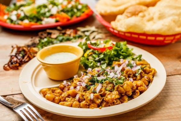 Breakfast Chana Bhatura