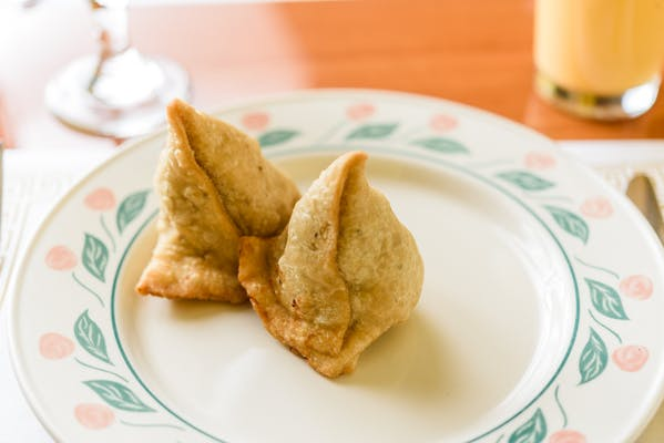 Vegetable Samosa for Two