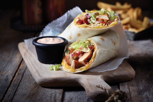 Chicken Fajita Roll-Up