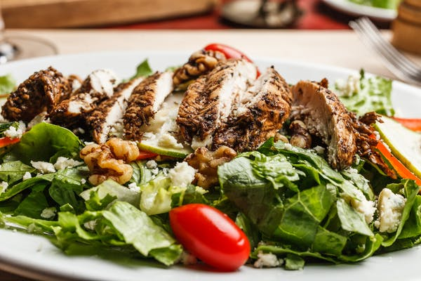 Wednesday Marinated Chargrilled Chicken Breast Salad