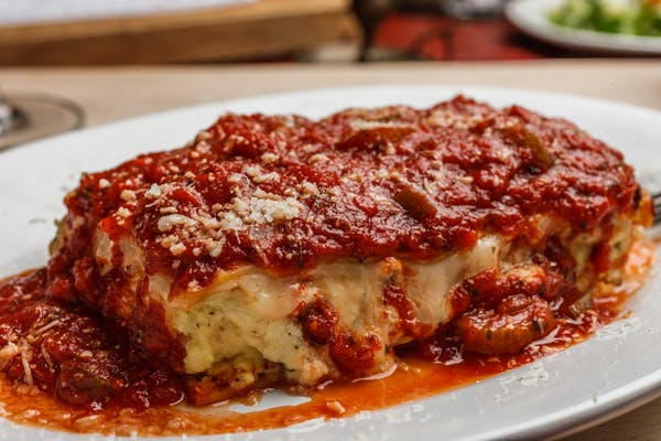 Lunch Five-Cheese Lasagna