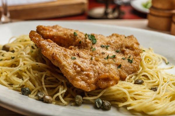 Lunch Chicken Piccata