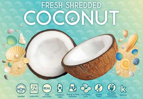 Fresh Shredded Coconut Fro-Yo