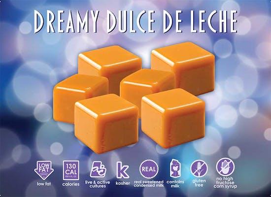 Dreamy Dulce de Leche Fro-Yo