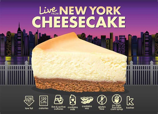 Live from New York Cheesecake Fro-Yo
