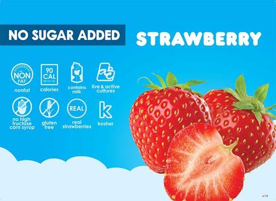 No Sugar Added Strawberry Fro-Yo