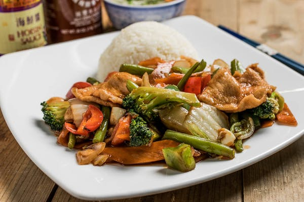 15. Chicken with Mixed Vegetables
