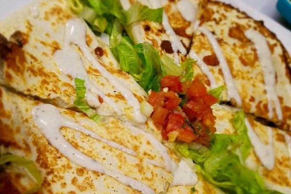 Smokin' Flat Iron Steak Quesadilla