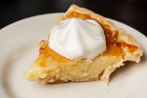 Homemade Buttermilk Pie