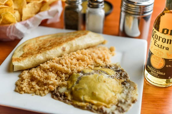 Chile Relleno & Chicken Quesadilla Combination