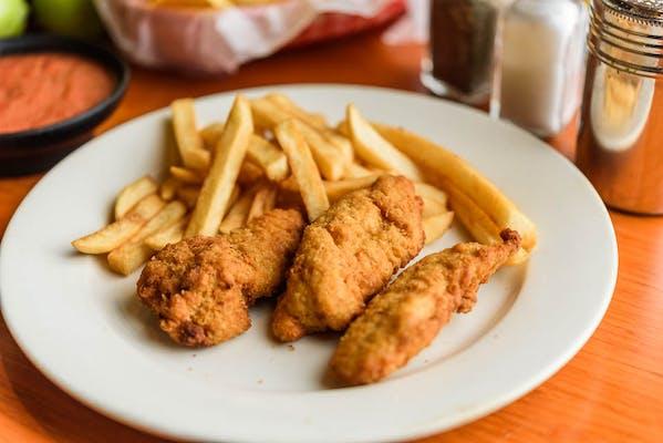 Kid's Fried Chicken Tenders & Fries