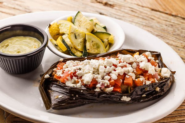 Black Bean & Goat Cheese Tamale