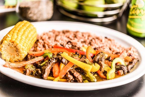 Peppered Steak (Lunch)