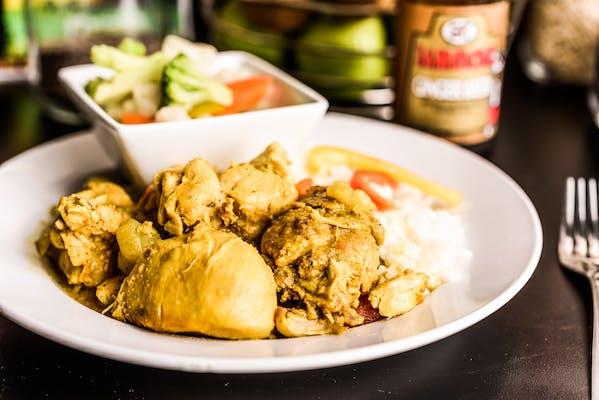 Curry Chicken (Dinner Portion)