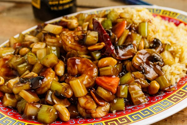 Kung Pao Chicken Large Platter