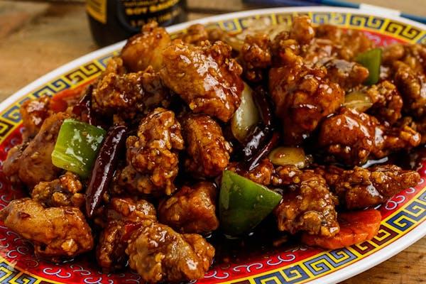 General Tso's Chicken Platter