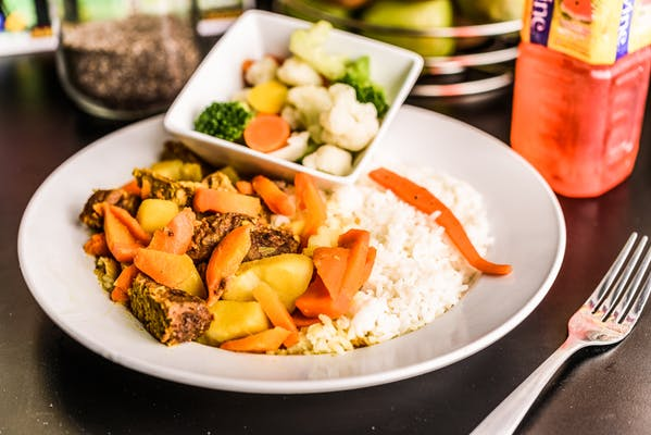 Vegan Curry Goat