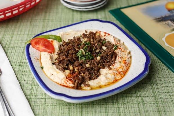 Hummus bil Lahme
