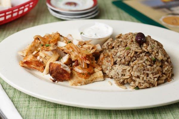 Mujaddarah & Chicken