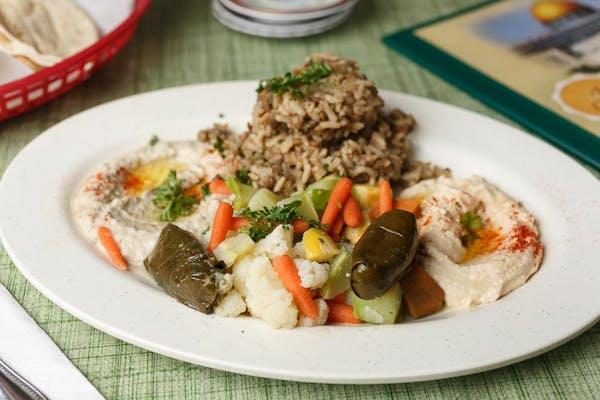 The Vegetarian Plate