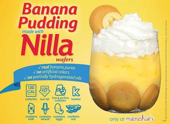 Banana Pudding Fro-Yo with Nilla Wafers