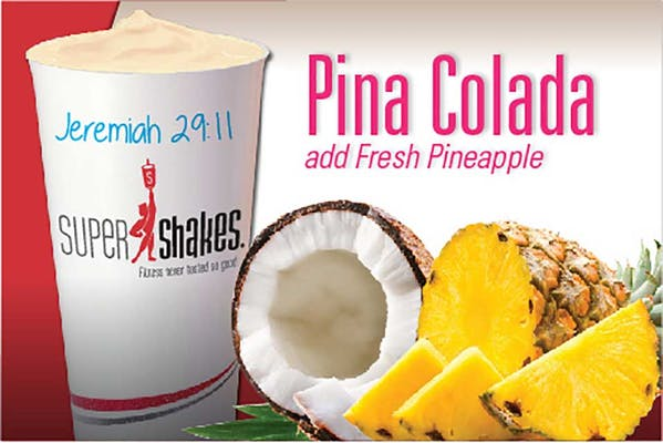 Super Sleep Piña Colada Shake