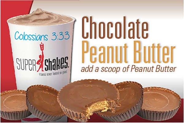 Super Calm Chocolate Peanut Butter Cup Shake